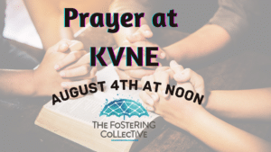 Monthly Prayer time - August