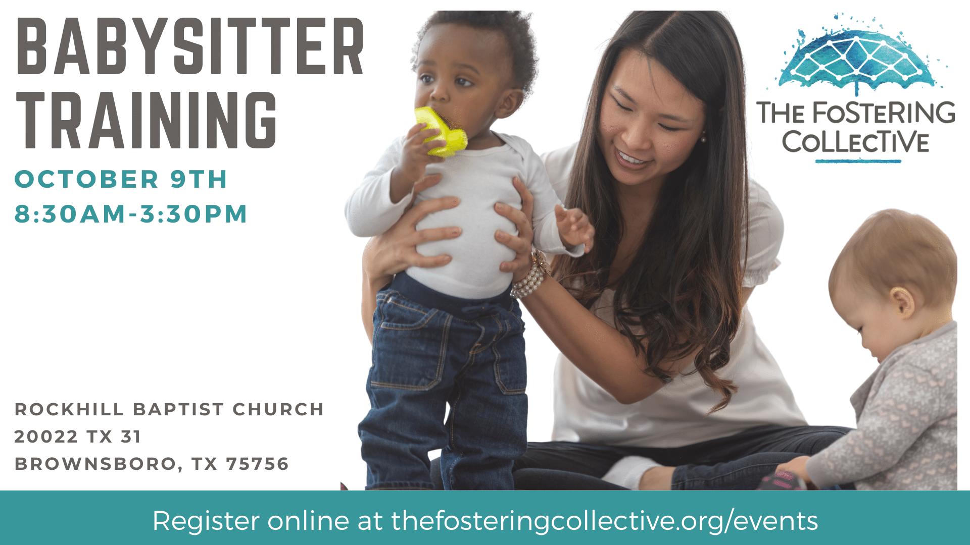 Babysitter training - October